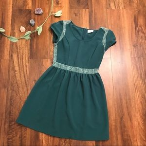 Urban Outfitters Pins and Needles | Teal Dress